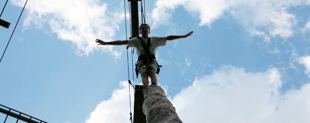 Der Pamper Pole macht seinem Namen alle Ehre
